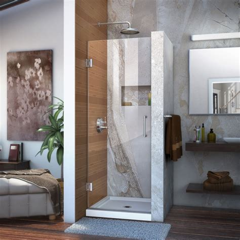 23 inch shower door dreamline shdr 20237210f unidoor 23 x 72 frameless shower