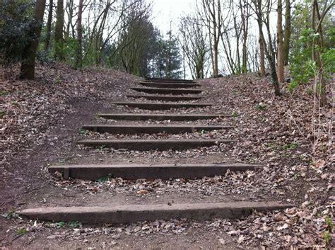 Railway Sleeper Stairs by Matlock S Railway Sleeper Steps