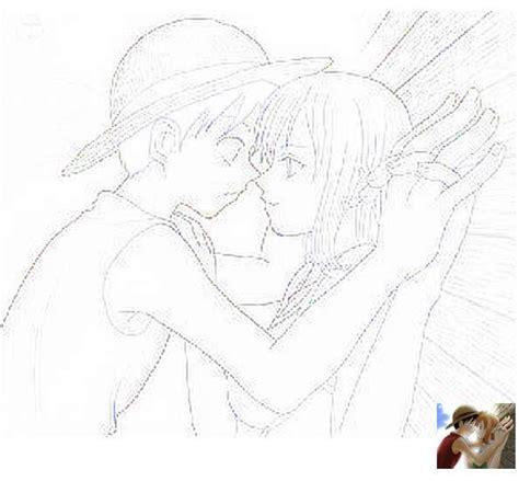 imagenes para dibujar a lapiz de one piece dibujo pareja durmiendo imagui