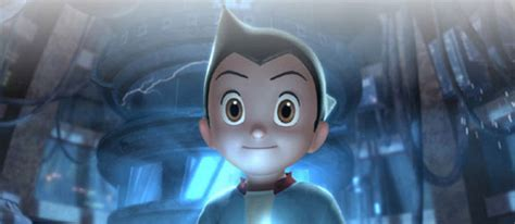 astroboy hair astro boy movie preview starring nicolas cage and kristen