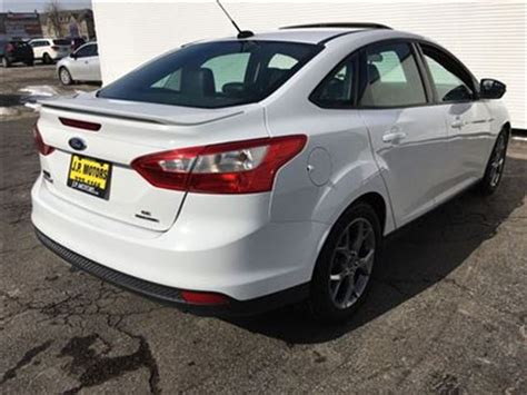 2013 ford focus se accessories 2013 ford focus se navigation leather sunroof white j