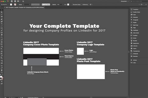 Design 101 Linkedin S 2017 Overhaul How To Adjust Free Template Download Red Branch Media Cover Photo Template 2017