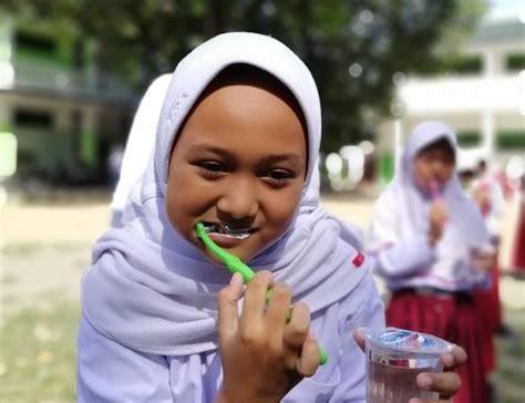 Sikat Gigi pkm wara ajari anak anak sikat gigi dan cuci tangan pakai