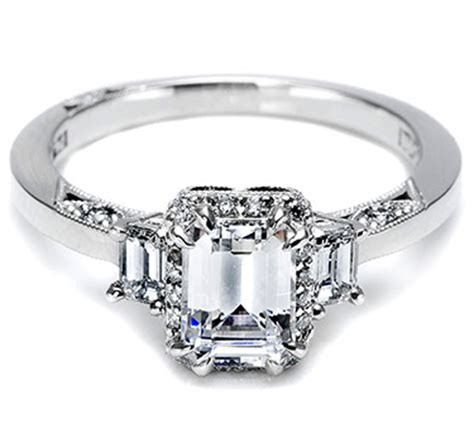 tacori 2621ec a beautiful emerald cut engagement ring