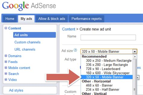 adsense mobile google adsense mobile content ads migrating to core