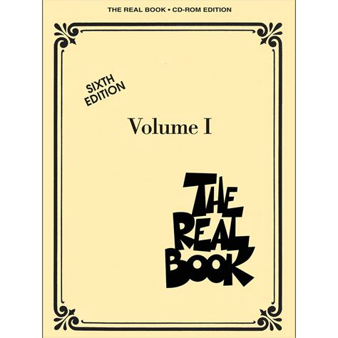 volume 1 books hal leonard the real book volume 1 sixth edition c