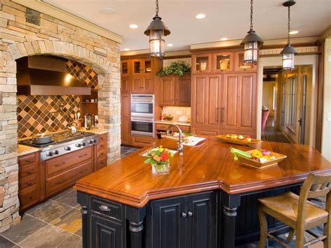large kitchen islands hgtv photo by merillat