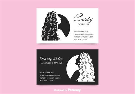 salon business card  vector art   downloads