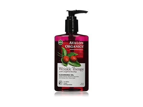 Detox Organics Ingredients by Avalon Organics Wrinkle Therapy Cleansing 8 Fluid