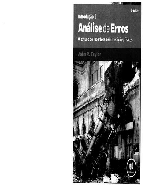 Livro Introdução à Análise de Erros John R. Taylor