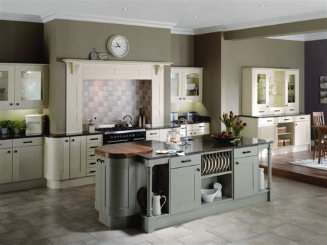 Cottage Style Kitchen Islands by Painted Shaker Kitchens Home Decor And Interior Design