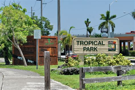 parks miami tropical park miami activities attractions events