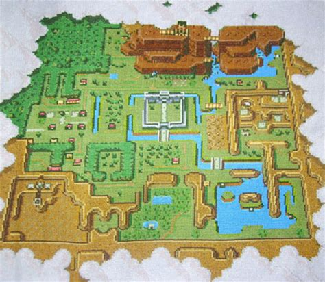 legend of zelda map cross stitch 3d dot game heroes screens from software page 13 neogaf