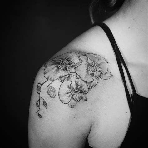 black orchid tattoo black orchid tattoos creativefan