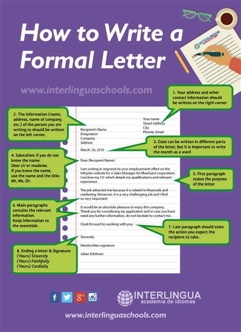 imagenes de ingles write c 243 mo escribir una carta formal en ingl 233 s interlingua schools