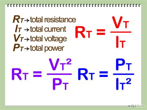 how to calculate the resistance of each resistor 3 easy ways to calculate total resistance in circuits