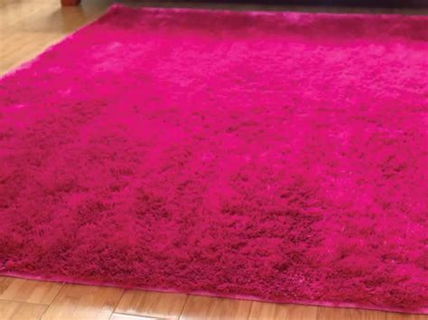 pink fluffy lights attractive pink rug for your home darbylanefurniture