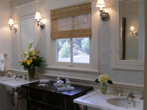 bathroom window treatment ideas traditional bathroom designs hgtv