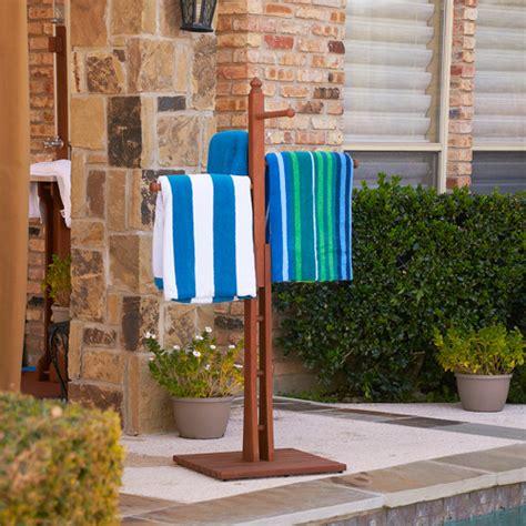 Pool Side Towel Rack by Sanibel Poolside Spa Towel Rack Walmart