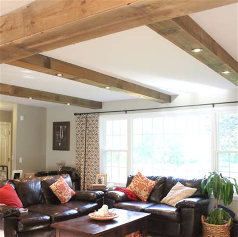 adding beams to ceiling if you want to install downlights but a solid