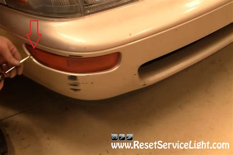 how to change the signal light on toyota corolla 1994 1997 reset service light reset