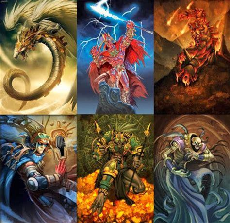 imagenes de jefes mayas dioses aztecas dioses mitologicos