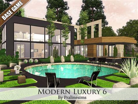 Sims 2 Luxury Homes Pralinesims Modern Luxury 6