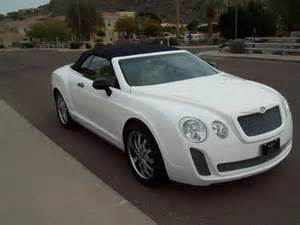 Bentley On Ebay Another Bentley Continental Gt Replica Sells On Ebay Car