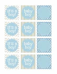 baby shower favor tags template free boy baby shower free printables how to nest for less