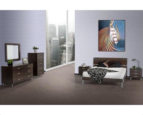 wenge bedroom furniture wenge bedroom set in contemporaty style 44b109set