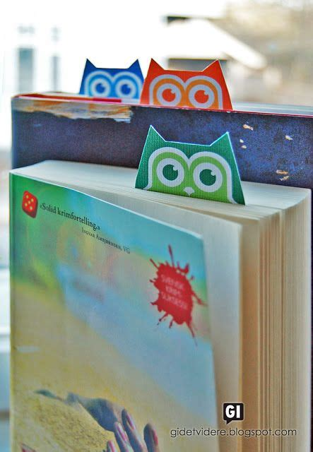 printable owl bookmarks 26 best images about bookmarks on pinterest kimonos