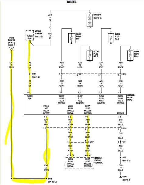 ignition wiring diagram for 2007 jeep liberty wiring