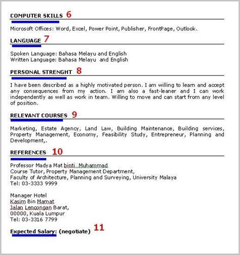 cara buat resume terbaik azhan co