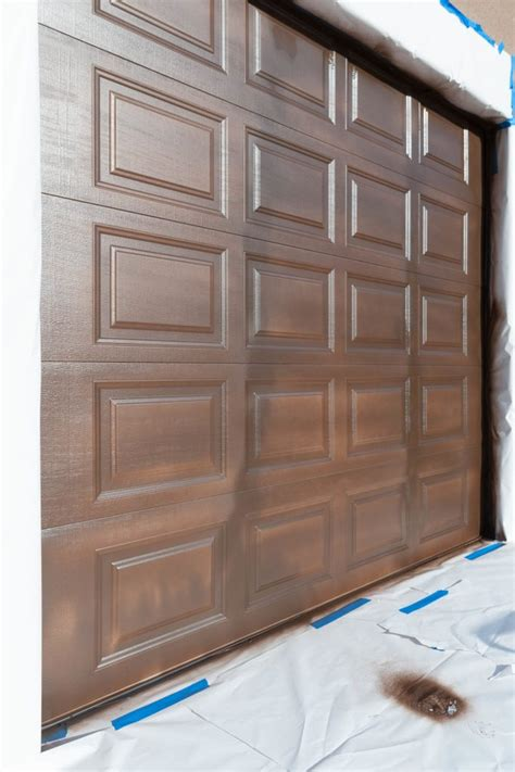 paint garage doors how to paint garage doors and add curb appeal to your home