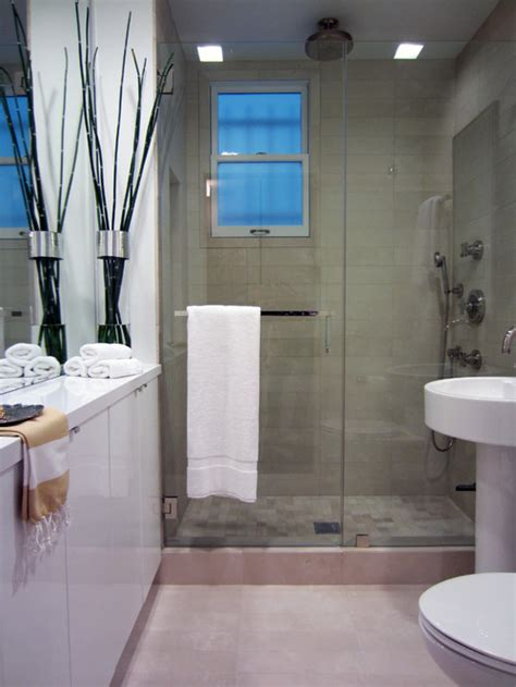 The Showers Better by 12 Design Tips To Make A Small Bathroom Better