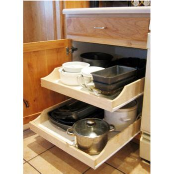 Roller Shelves For Kitchen Cabinets by Pre Assembled Cabinet Pull Outs