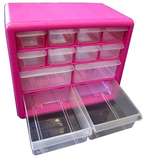 Pink Plastic Drawers Storage by 17 Best Images About Organizing On
