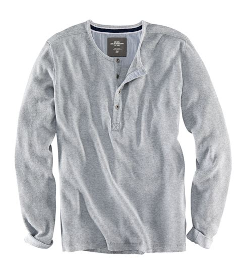 h amp m grandad shirt in gray for men lyst