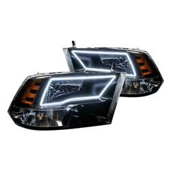oracle lighting 174 dodge ram slt cab 2011 black