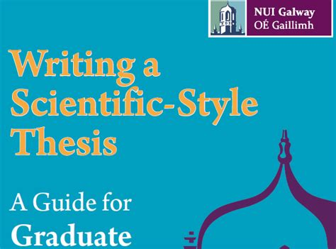 writing a scientific dissertation current students nui galway