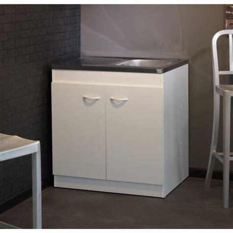 meuble sous 233 vier cosmos blanc l80 cm achat vente
