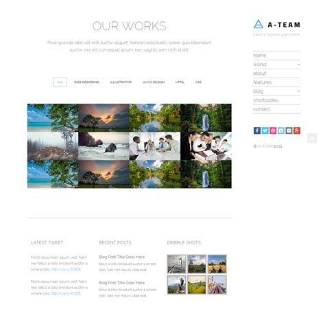 html5 responsive templates for blogger a team minimal responsive html5 blog template by jewel