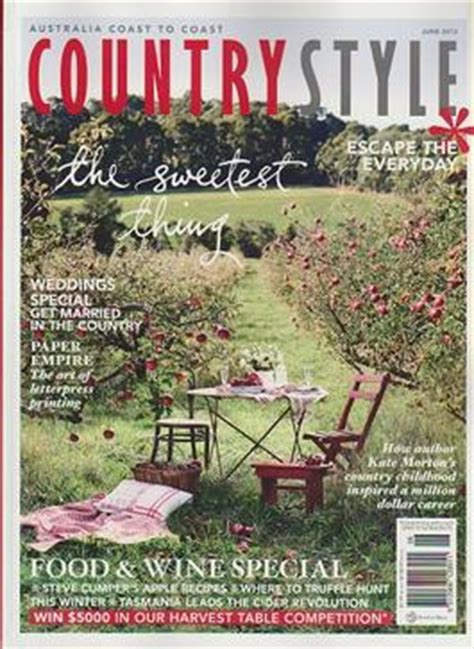 australian country style magazine subscription country style magazine shopsafe