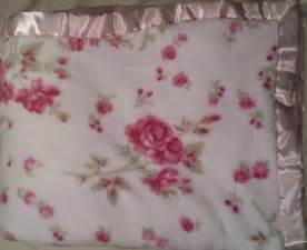 simply shabby chic cozy pink rose plush blanket king
