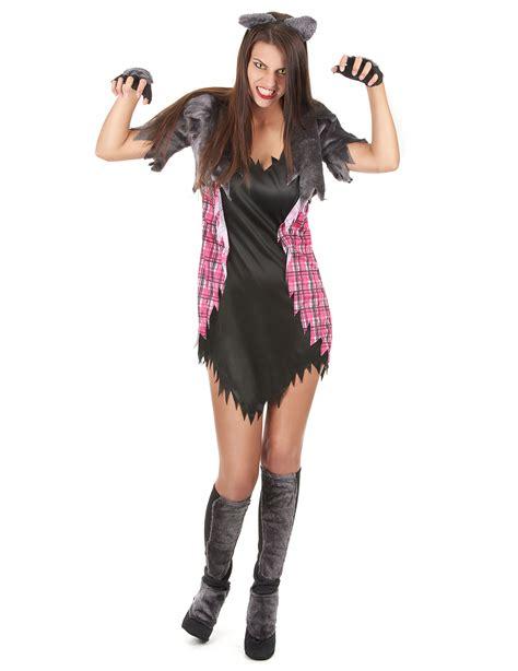 sexy halloween weerwolven kostuum voor vrouwen