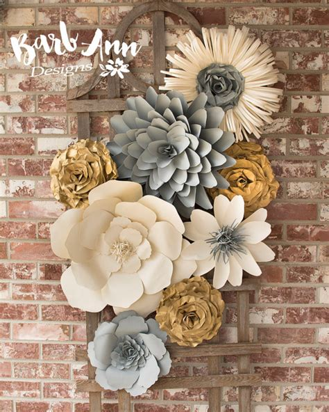 flower decoration for bedroom large paper flower wall decor for nursery weddings bridal