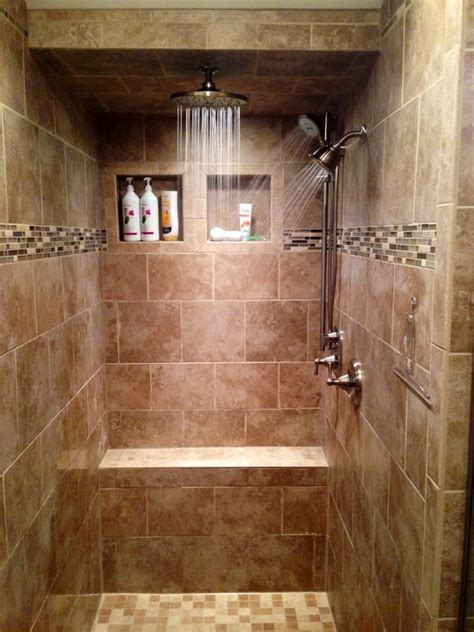 Mosaic Tile Bathroom Ideas 23 Stunning Tile Shower Designs Page 4 Of 5 Tile Trim Tile Showers And Mosaic Glass