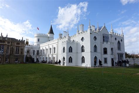 Gothic Revival House London Strawberry Hill House Diverting Journeys