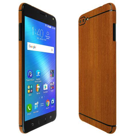 asus zenfone 4 max techskin light wood skin