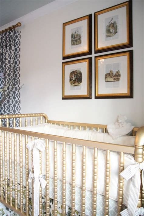 Lind Crib History by Lind Crib Painted Gold This Live